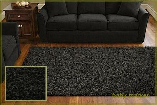black living room rugs living room 5x8 area rug home decorative rich black 13553