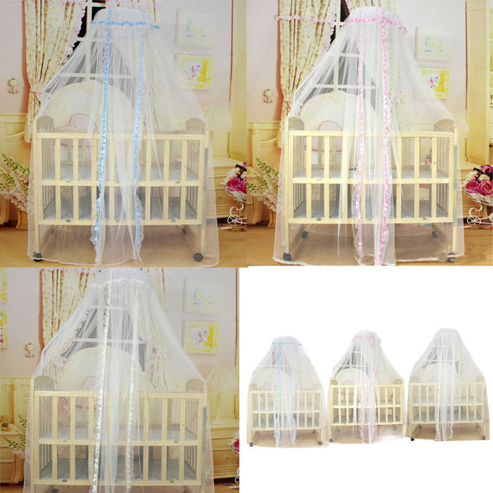 Baby Canopy For Crib: Baby Kids Infant Toddler Crib Baby Bed Mosquito Net