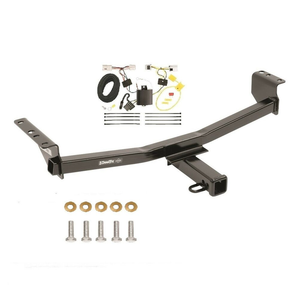 fits 2008 2016 nissan rogue class 3 trailer hitch wiring 2 quot tow receiver 75902 ebay