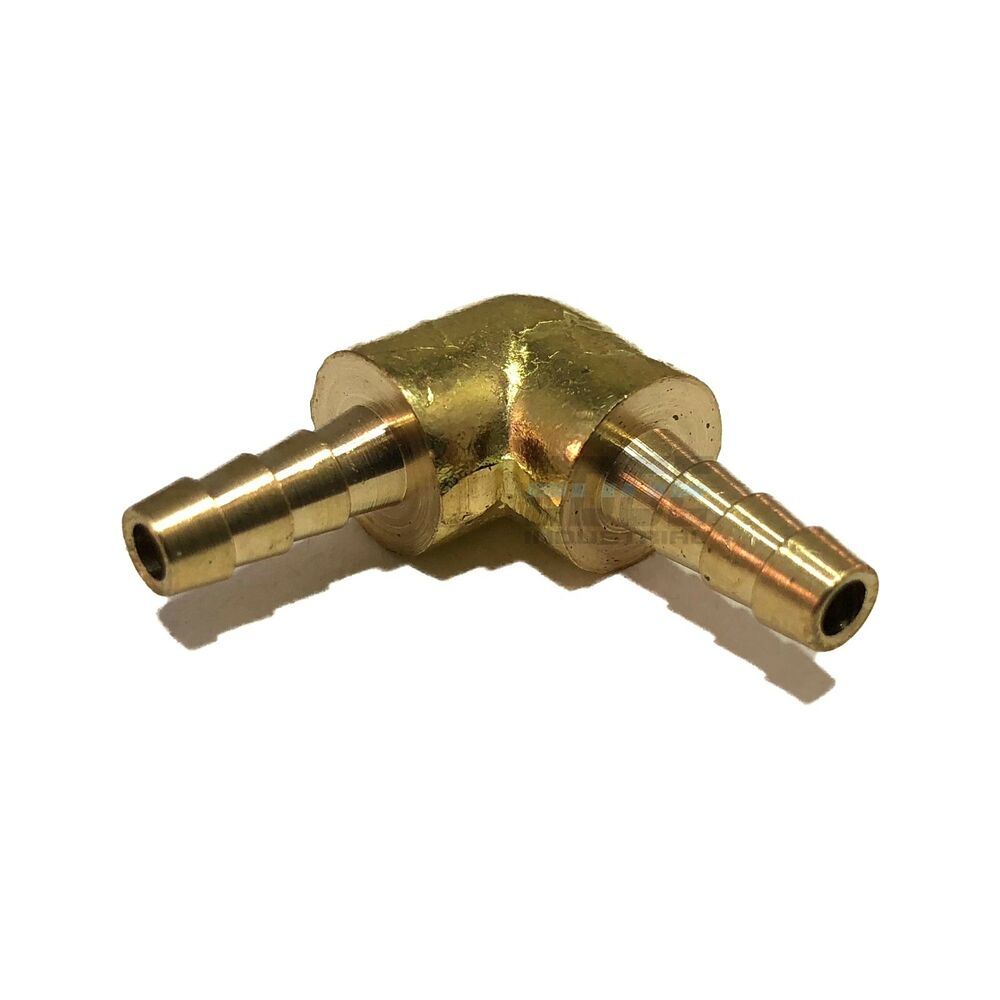 Hose barb elbow degree brass union pipe fitting