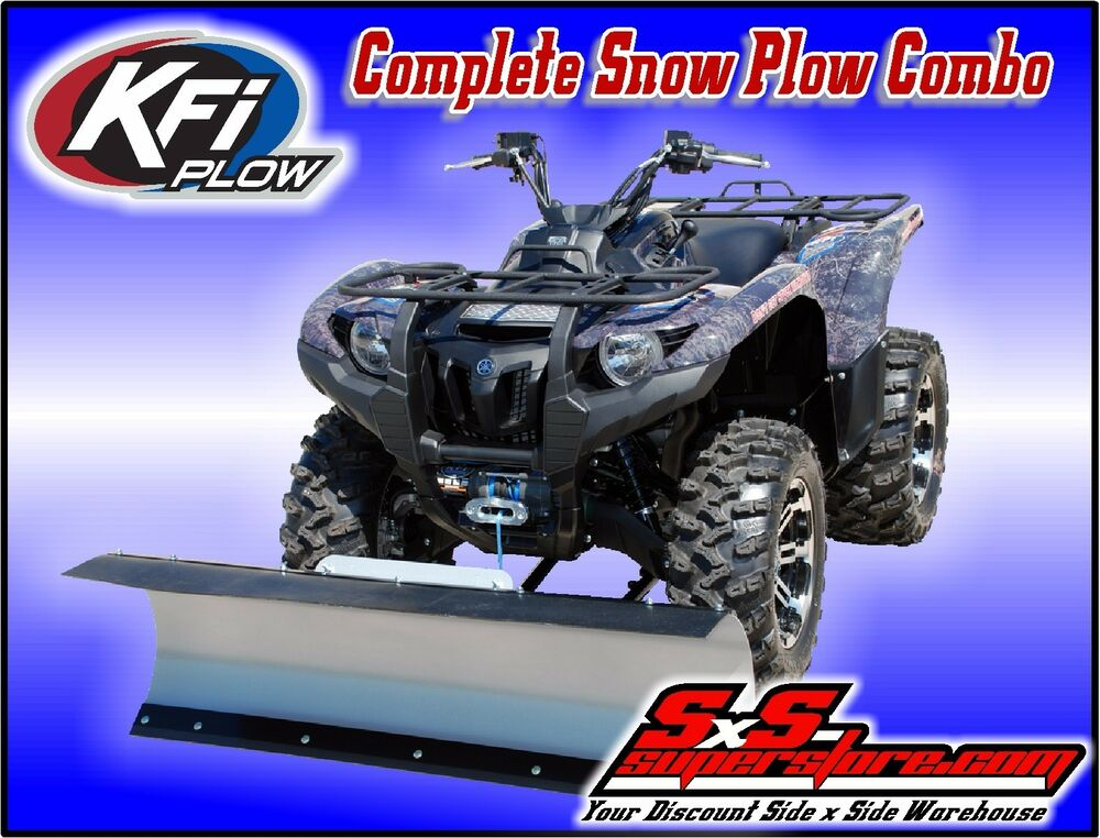 how to add blade side on a plow atv