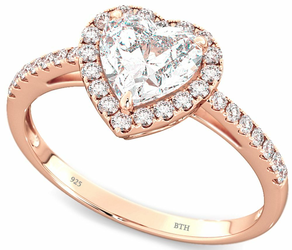 rose gold wedding rings for women 925 sterling silver gold wedding 7125