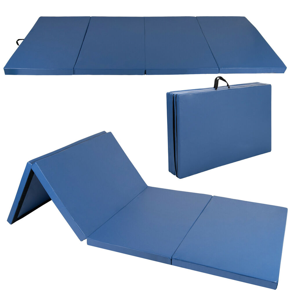 "4'x8'x2"" Gymnastics Gym Folding Exercise Aerobics Tumbling"