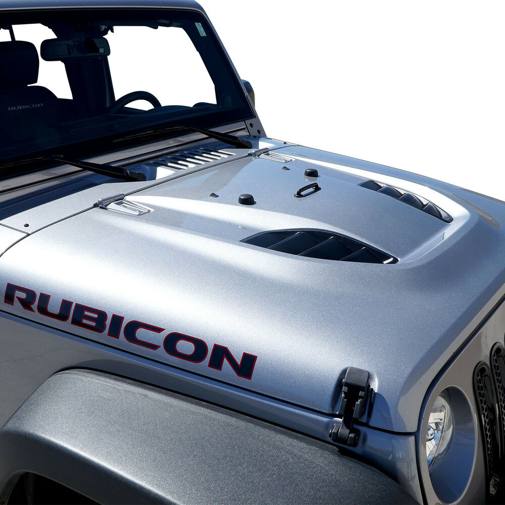Custom Power Dome Style Hood For Jeep Wrangler Jk 2007