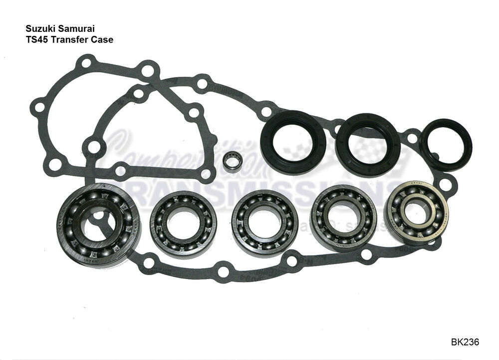suzuki samurai transfer case rebuild kit 4x4 5sp trans