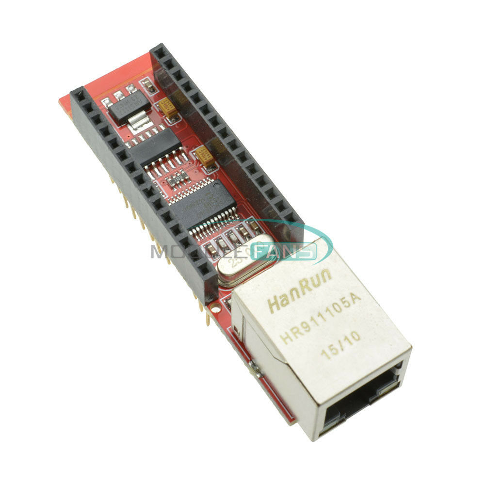Enc j ethernet shield for arduino nano v rj