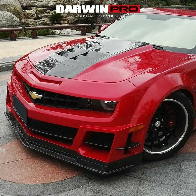 2010 2015 Chevrolet Camaro Dp Zl1 Style Portion Carbon