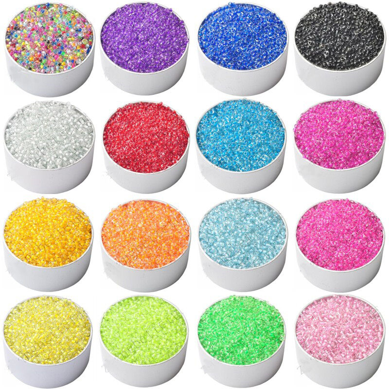 1000pcs new colorful czech glass round spacer loose beads jewelry