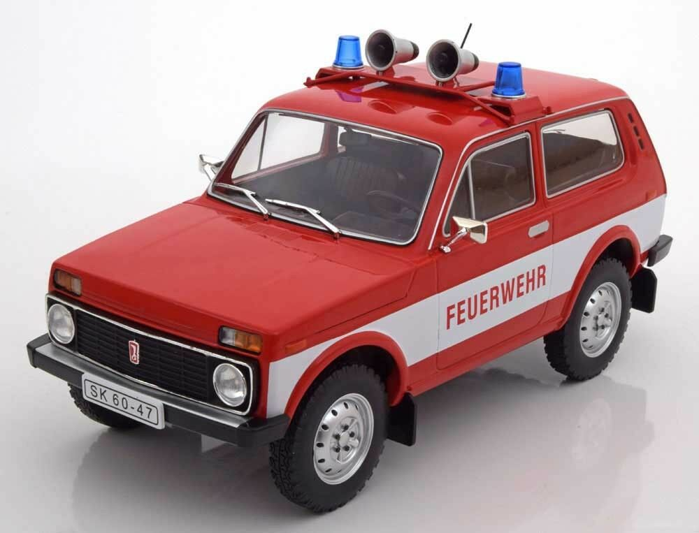 mcg 1978 lada niva 1600 fire engine in 1 18 scale new release in stock ebay. Black Bedroom Furniture Sets. Home Design Ideas