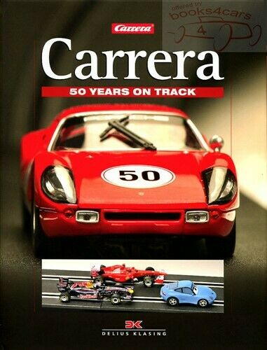 carrera book slot cars race track 50 year ebay. Black Bedroom Furniture Sets. Home Design Ideas