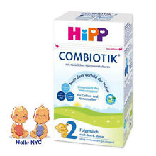 HiPP BIO Combiotic Stage 2 Organic Baby Formula  FREE EXPEDITED SHIPPING 09/2019