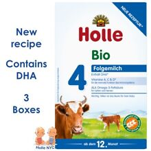 Holle stage 4 Organic Formula 10/2019, 600g, 3 BOXES, FREE SHIPPING