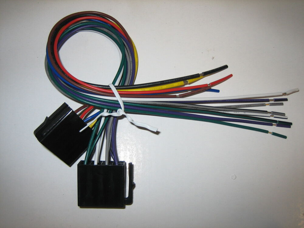 phase linear original wire harness vm9225bt ebay