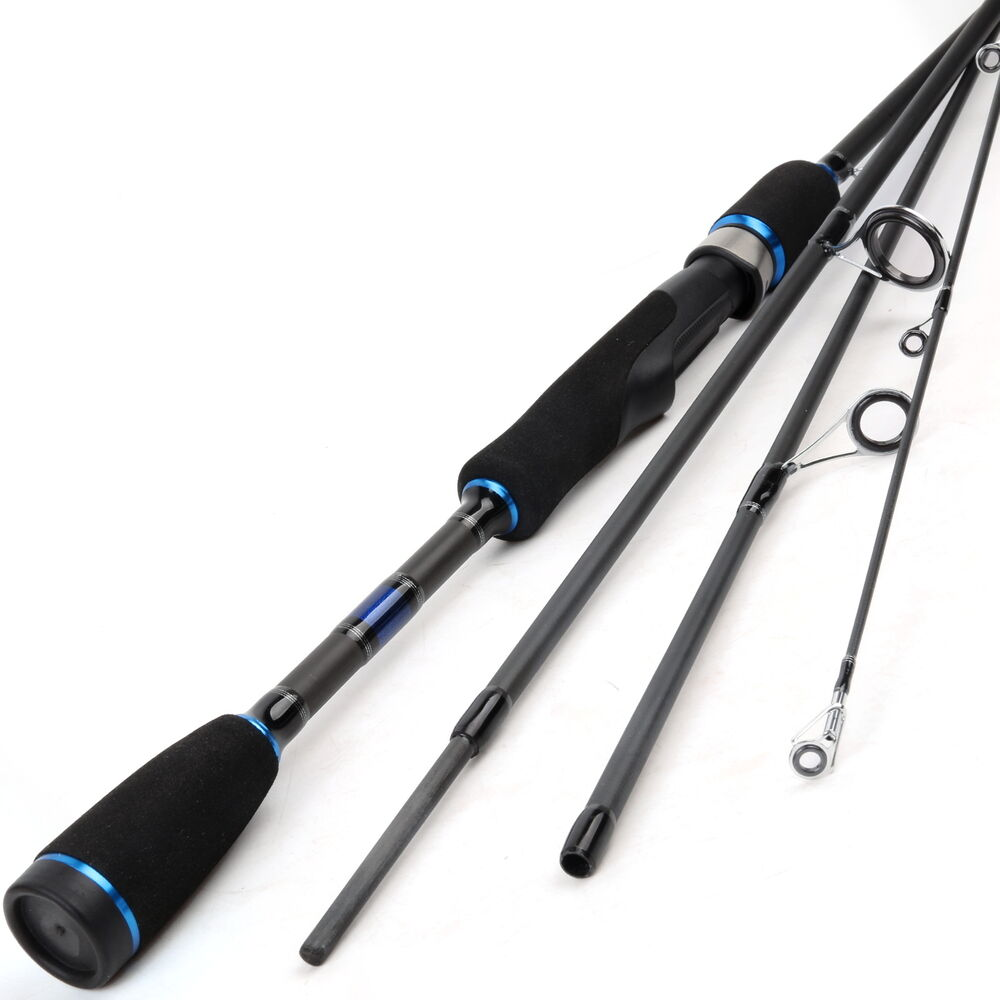 2 1m spinning fishing rod 4pieces travel carbon fiber