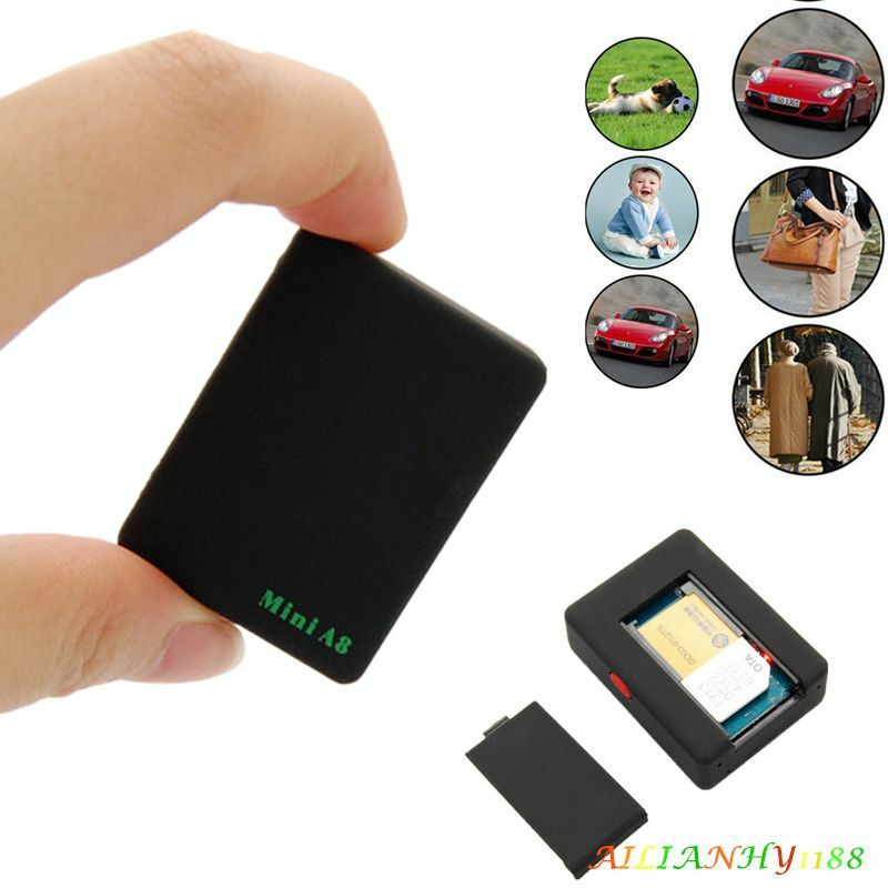 Tiny Small Mini Global Locator Real Time Car Kid Pet Gps