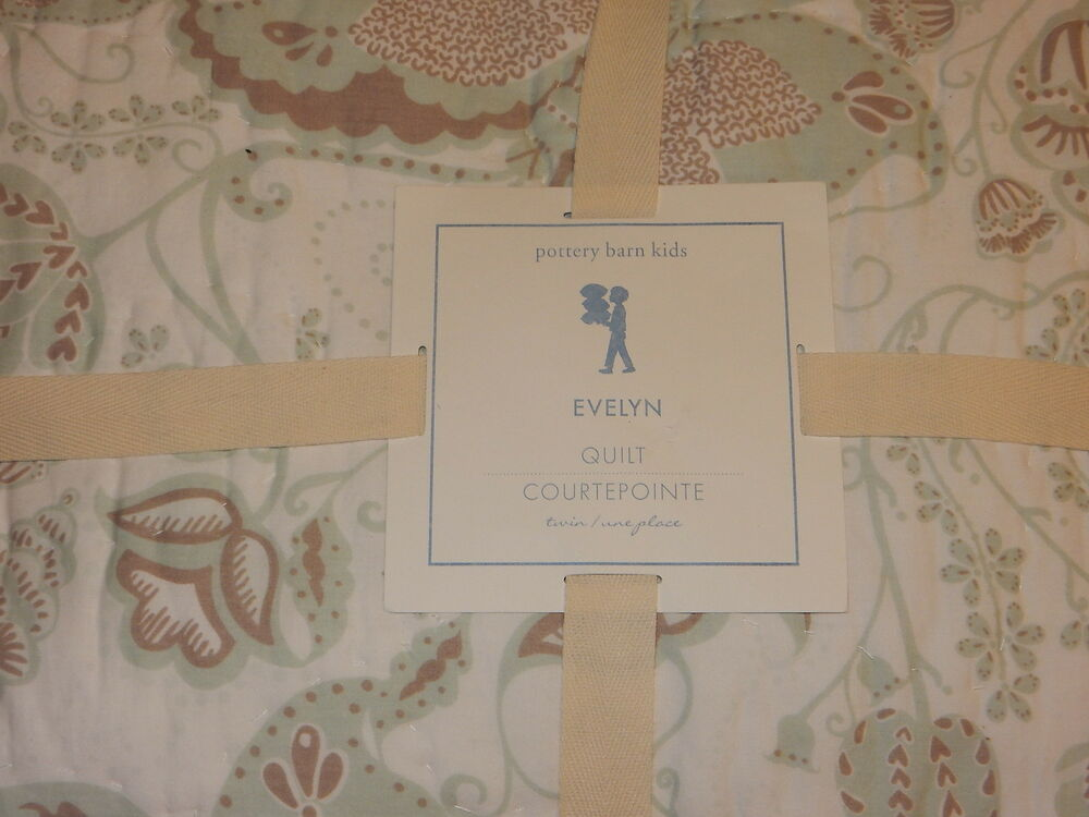 Pottery Barn Kids Evelyn Twin Quilt Ebay