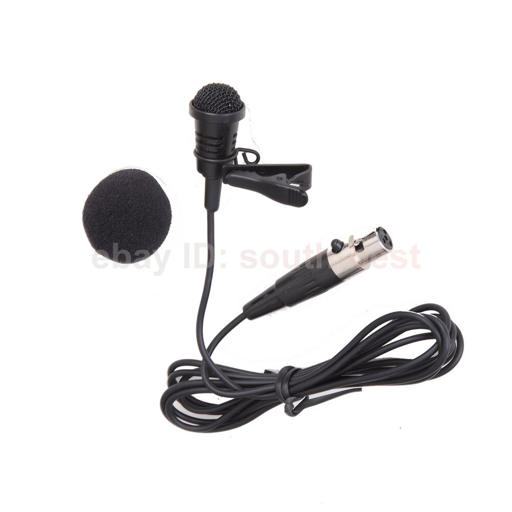 new me4 lavalier lapel clip microphone mic for shure ulx pgx slx ut wireless ebay. Black Bedroom Furniture Sets. Home Design Ideas