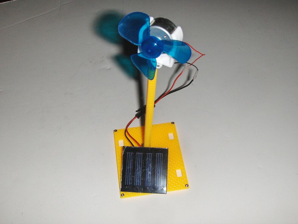 Build You Own Popular Educational Solar Fan Science