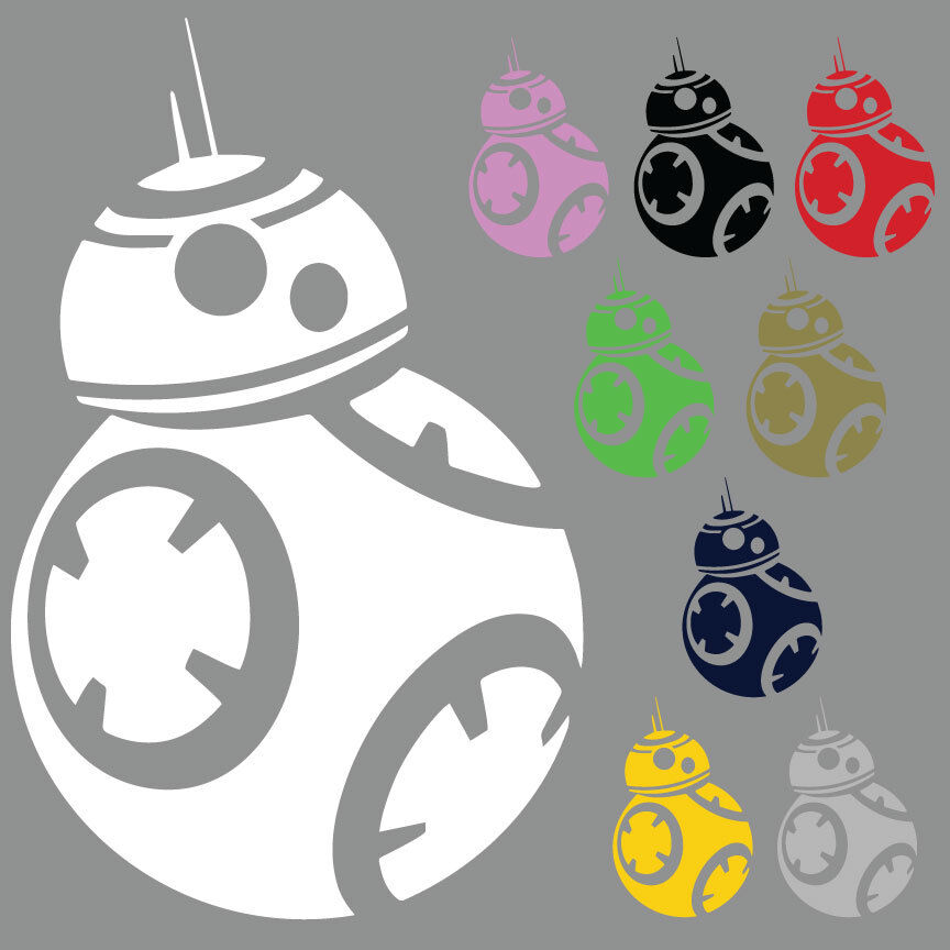 Bb 8 Die Cut Vinyl Decal Star Wars Car Window Sticker