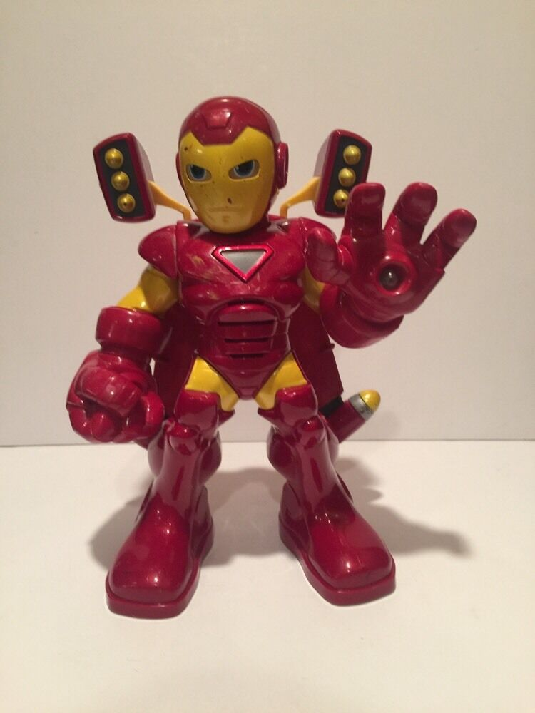 Toy Figures For Boys : Iron man talking light up hasbro action figure marvel