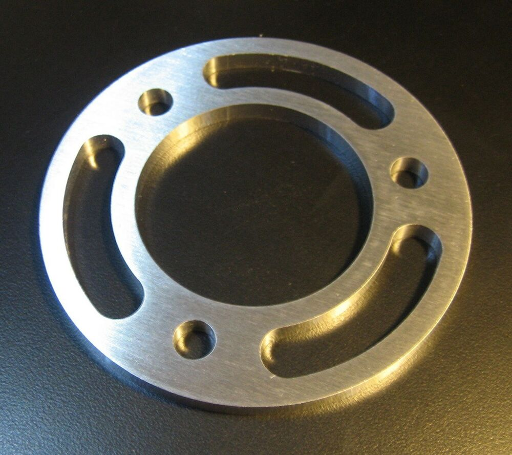 "BBC / SBC Billet Aluminum Crank Pulley Spacer 1/4"" Thick"
