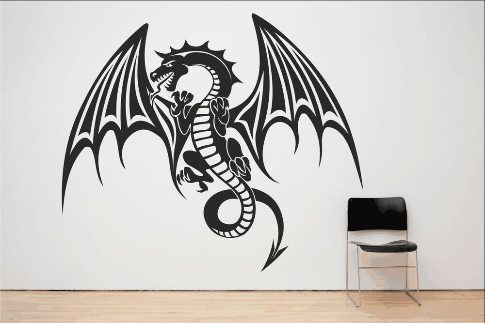 Dragon Mythical Flying Fire Breathing Monster Gothic