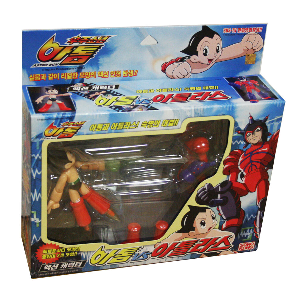 Atom Astro Boy Vs Atlas Action Toy Figure Anime Japan