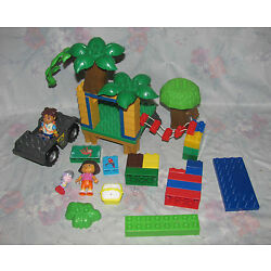 Kyпить Mega Blok Dora Explorer Diego Set Minifigures, Jeep, Treehouse Parts на еВаy.соm