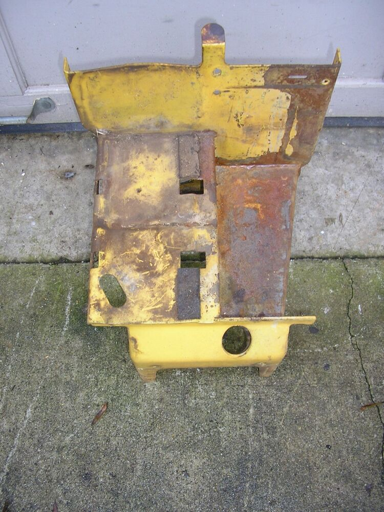 Allis Chalmers B Fuel Tank : Allis chalmers simplicity fuel tank battery support