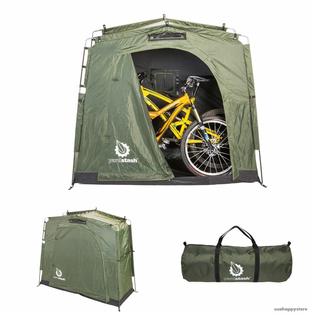 Outdoor bike storage shed backyard bicycle tent garden Outdoor bicycle