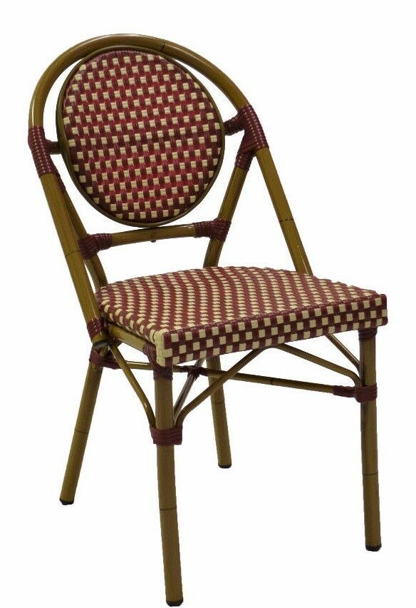 French Bistro Restaurant Patio Chair outdoor furniture