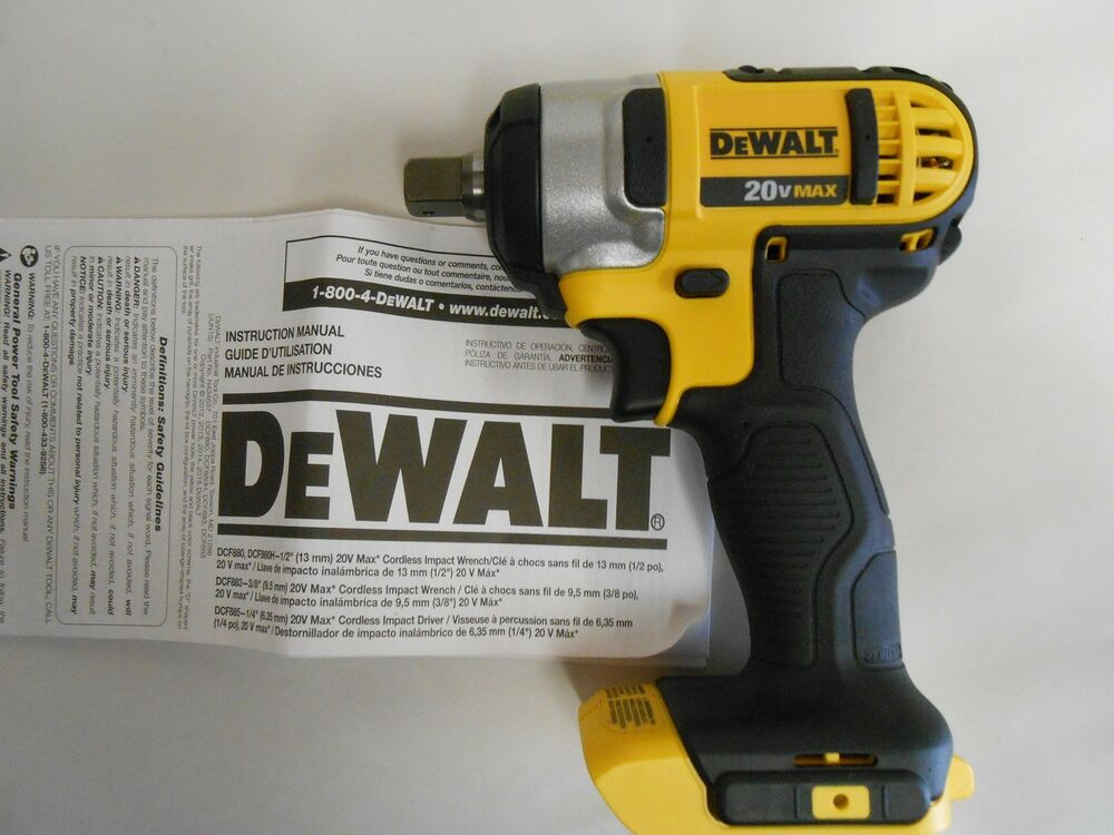 new dewalt dcf880b 1 2 inch impact wrench with detent pin. Black Bedroom Furniture Sets. Home Design Ideas