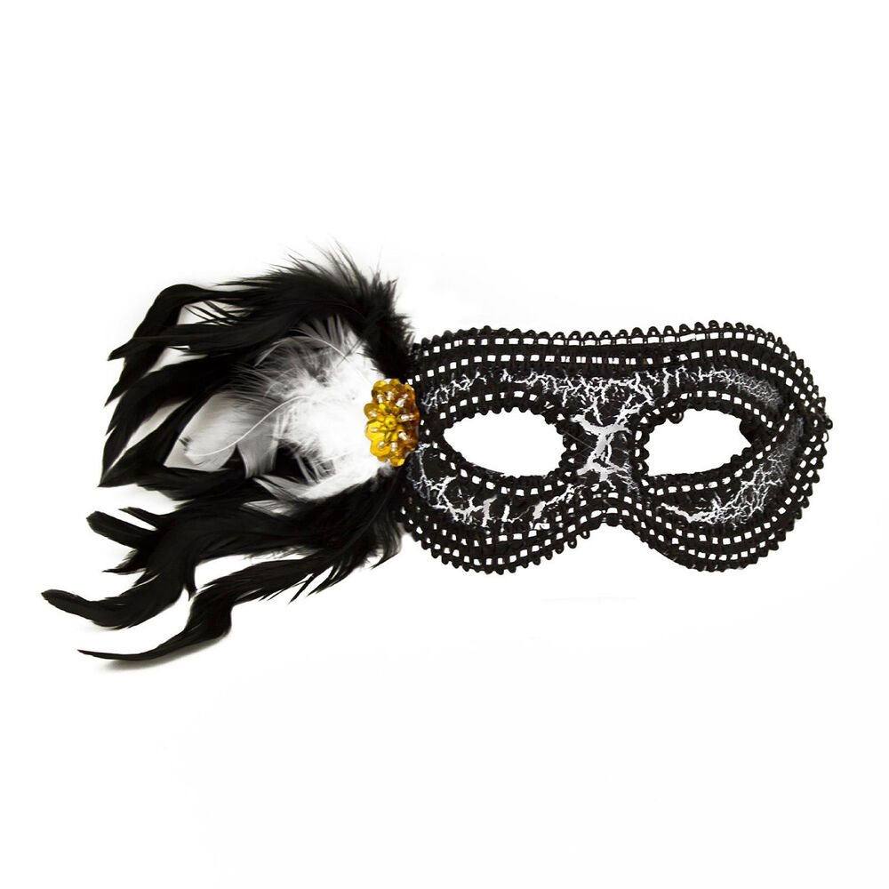 Mardi Gras Masquerade Halloween Feather Party Favor