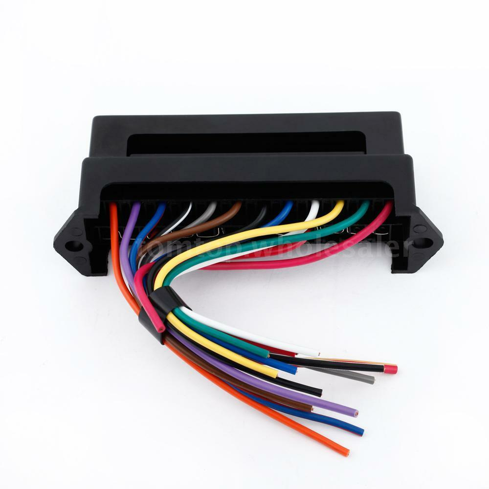 12 way 32v circuit car trailer boat blade fuse box block. Black Bedroom Furniture Sets. Home Design Ideas