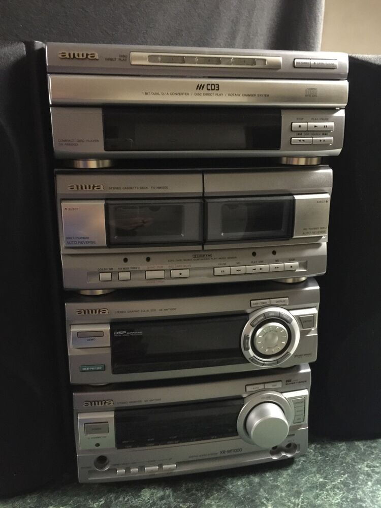 Aiwa Model Mx Nmt100u Stereo Unit Ebay