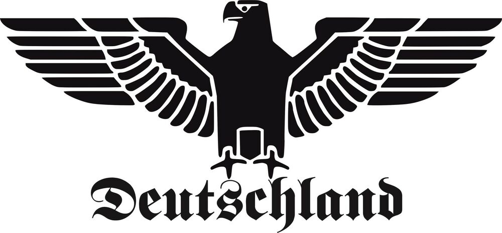 de3b reichsadler auto aufkleber sticker schrift adler deutschland 30 cm gro ebay. Black Bedroom Furniture Sets. Home Design Ideas