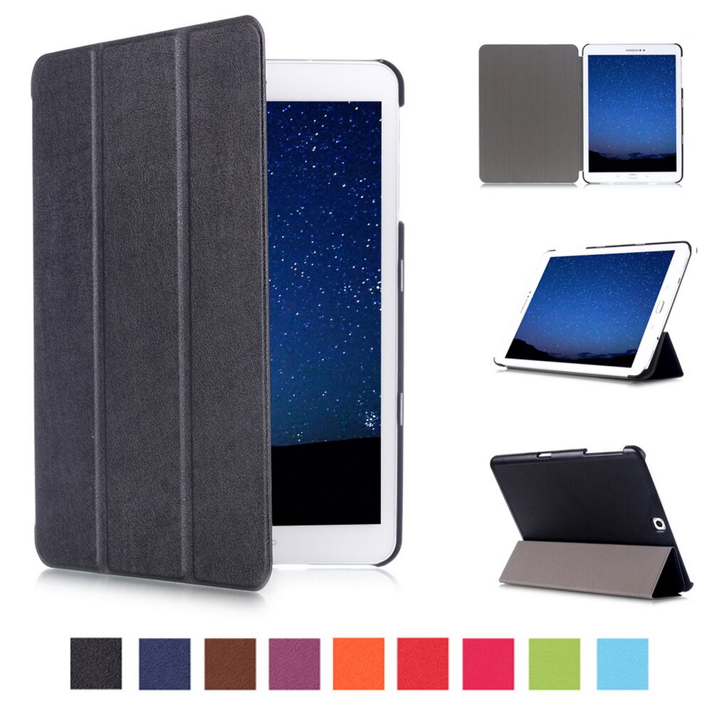For samsung galaxy tab e s2 9 7 8 0 tablet leather flip for Housse tab s2 8