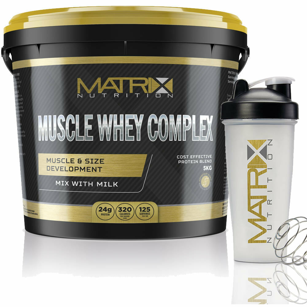 Protein Shakes Needed: MUSCLE WHEY COMPLEX