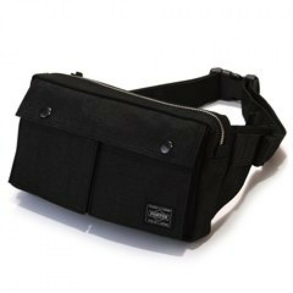 Details about New Yoshida PORTER SMOKY WAIST BAG 592-07507 Black From Japan 8c8bbd6c77798