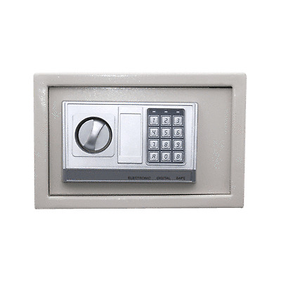 12 digital electronic safe box keypad lock security home office hotel us ship ebay. Black Bedroom Furniture Sets. Home Design Ideas