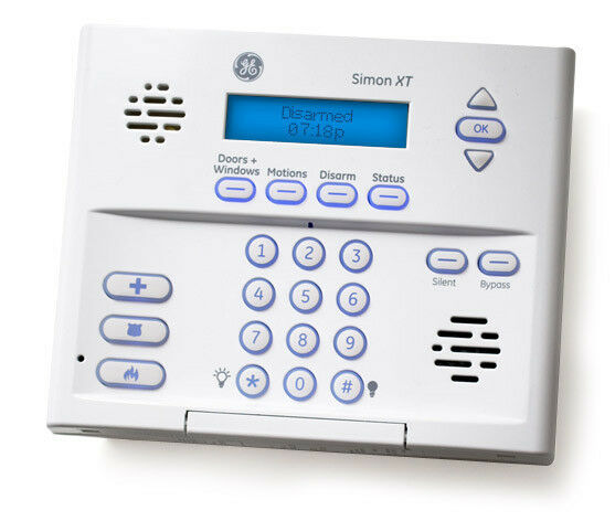 Ge Simon Xt 600 1054 95r Wireless Home Security System