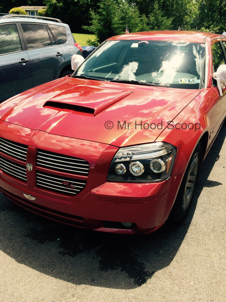 dodge magnum hood scoop unpainted hs003 ebay. Black Bedroom Furniture Sets. Home Design Ideas