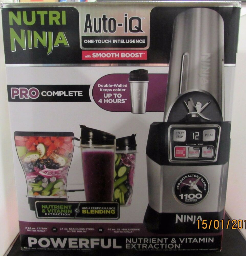 Nutri Ninja Blender Auto Iq Complete Extraction System