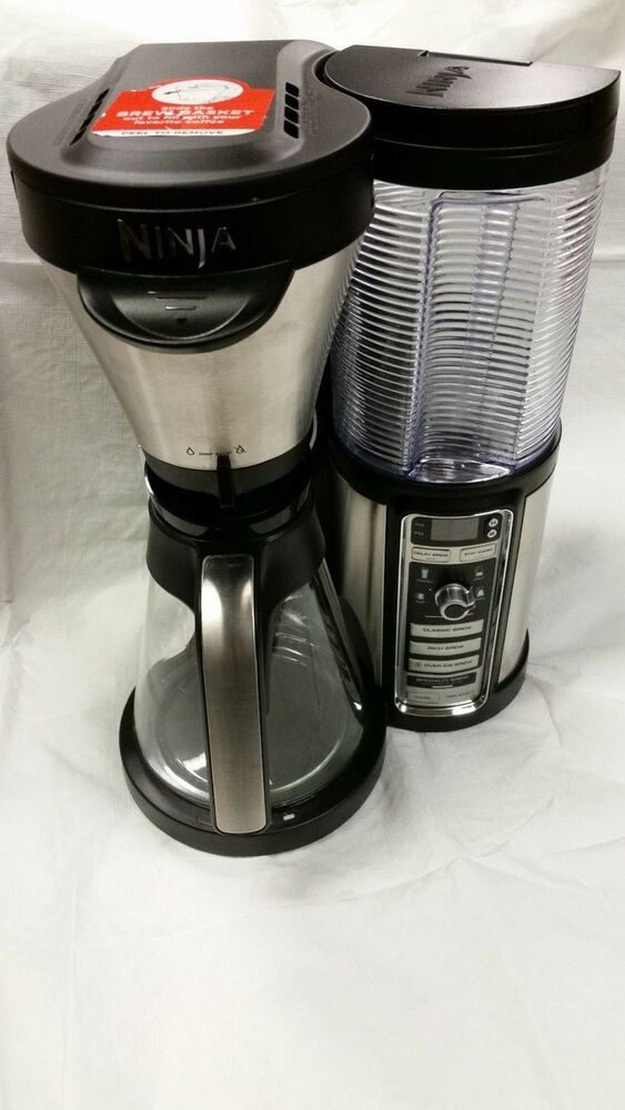 Ninja Coffee Maker Instructions : Ninja Coffee Bar Auto-iQ Coffee Brewer MISSING SPOON, STRAW & RECIPE BOOK eBay