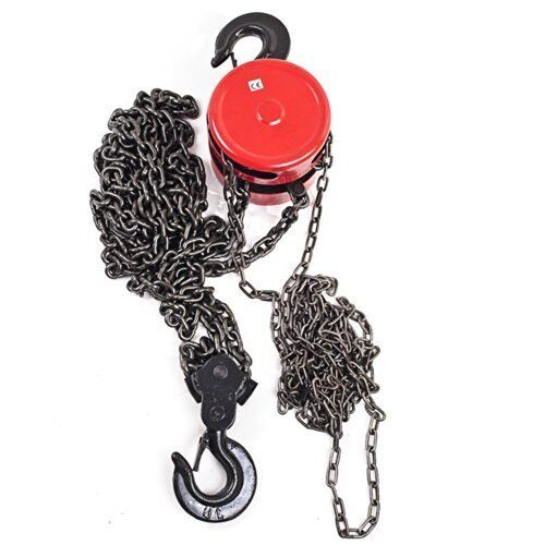 2 ton manual chain hoist 4000 lb 8 ft lift winch engine for 1 4 ton chain motor