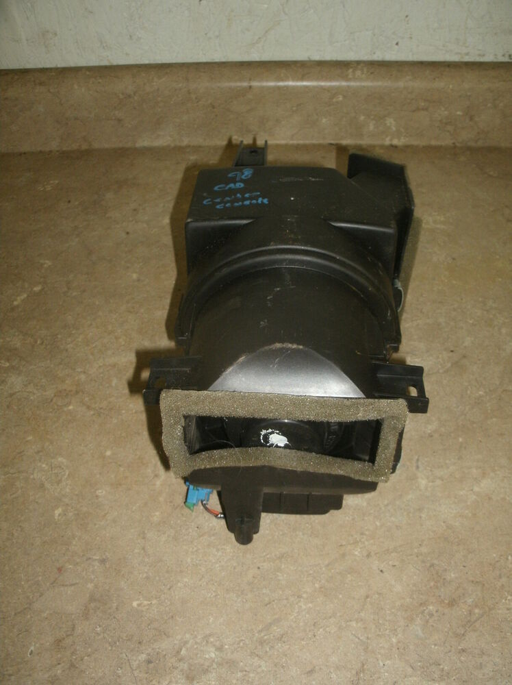 94 99 Cadillac Deville Oem Rear Heater Blower Motor Ebay