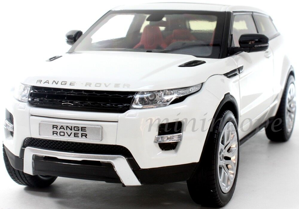 welly gt autos 11003 land range rover evoque 1 18 white. Black Bedroom Furniture Sets. Home Design Ideas