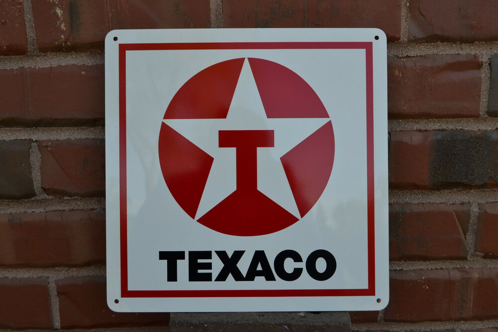 Texaco Gas Station Pump SIGN Service Garage Mechanic Shop ...