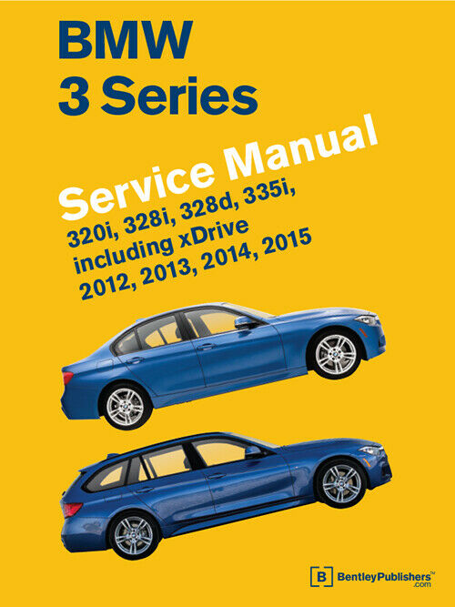 Bmw 3 Series 320i 328i 328d 335i Service Repair Shop Manual Book 2012