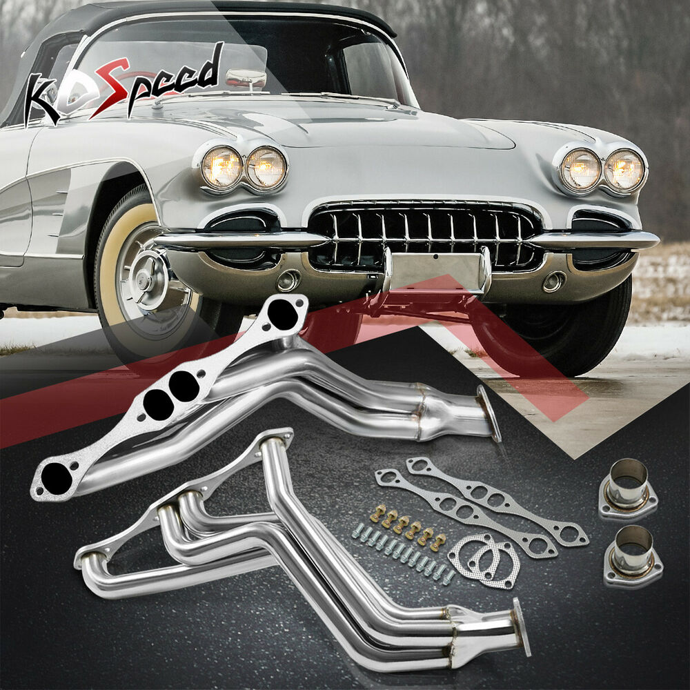 262-400 FAT FENDER WELL STAINLESS STEEL HEADER EXHAUST FOR